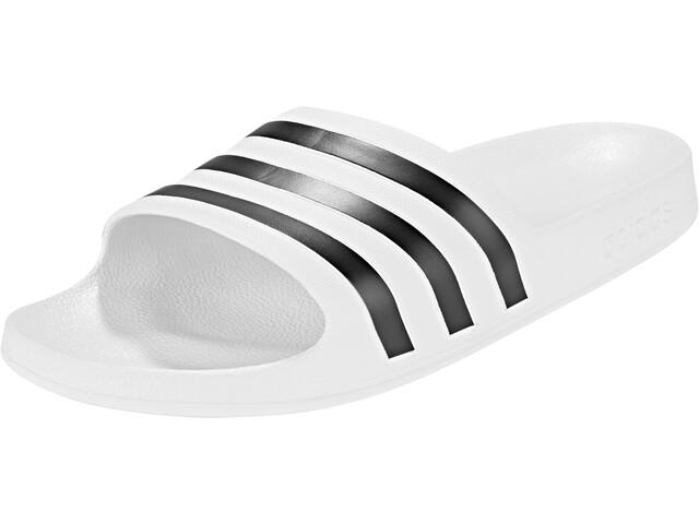 adidas Adilette Aqua Sandaalit Miehet, ftwr white/core black/ftwr white